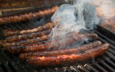 Merguez, the Algerian sausages
